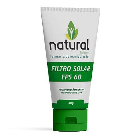 Filtro Solar FPS 60