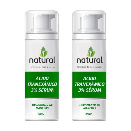 Kit Ácido Tranexâmico 3% Sérum 30ML - 2 Meses