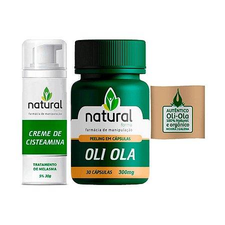 Kit para Tratamento de Melasma (Oli Ola + Cisteamina)