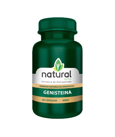 Genisteina 40MG 60 cápsulas