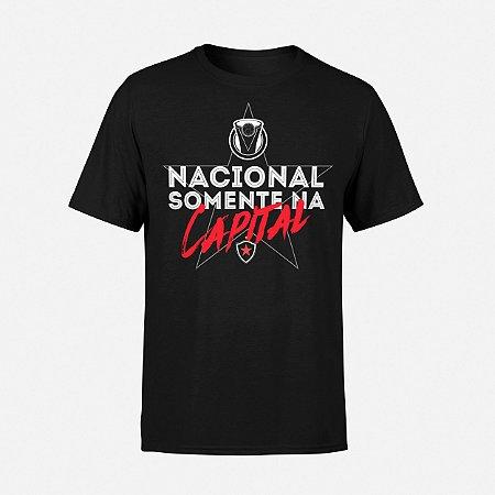 Camiseta Nacional Somente na Capital