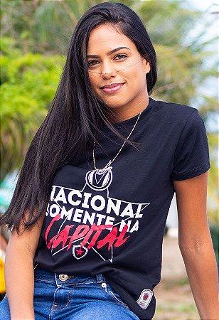 Camiseta Casual Nacional Feminina