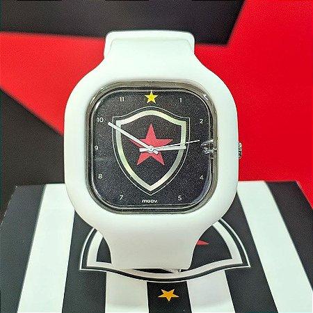 Relógio Oficial Botafogo PB Branco Moov