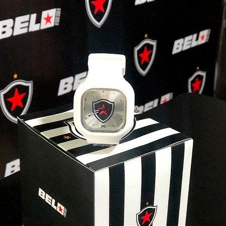 Relógio Branco Escudo Botafogo PB Moov