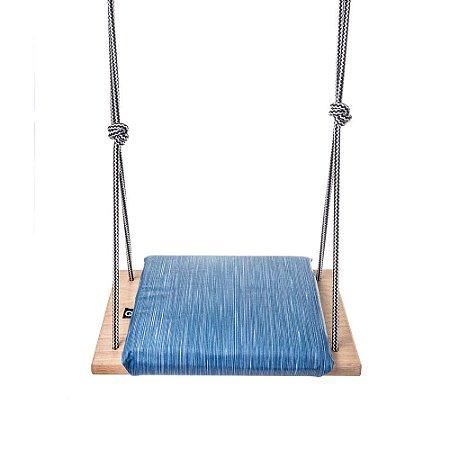 Balanço Infantil 3+ Assento Acolchoado Acquablock Coiseteria - Blue Jeans