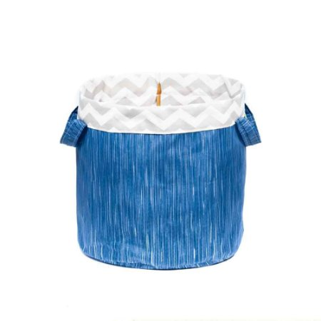 Cesto Organizador Multiuso Infantil Coiseteria Blue Jeans