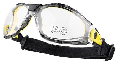 Óculos de Proteção Delta Plus Pacaya Strap Haste Elástico Antiembaçante CA 35269