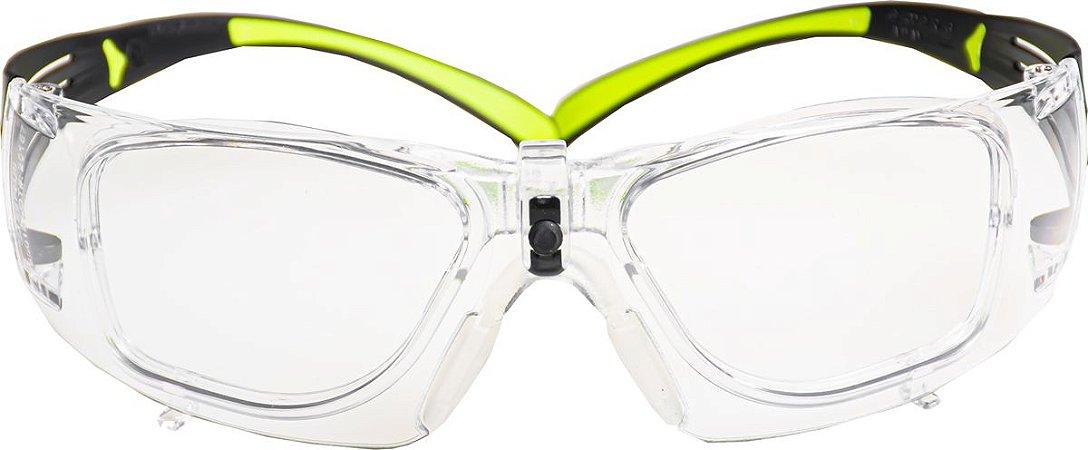 Óculos 3M™ SecureFit™ SF-400 Com Clipe de Lente Para Graduação Integrado CA 36018