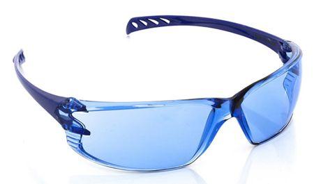 Óculos de Proteção Vision 500 Volk Azul Antiembaçante e Antirrisco Uva e Uvb CA 42719