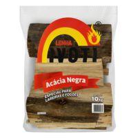 Lenha 10Kg Acacia Negra - Ivoti - Un