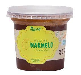 Doce Cremoso Masotti de Marmelo 400g - UN