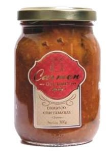Chutney de Damasco com Tamaras 300g -Doces Carmen - UN