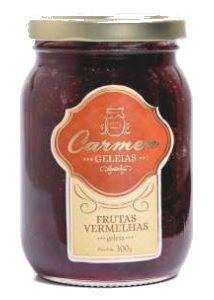 Geleia de Frutas Vermelhas 300g - Doces Carmen