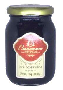 Geleia de Uva com Casca 300g - Doces Carmen