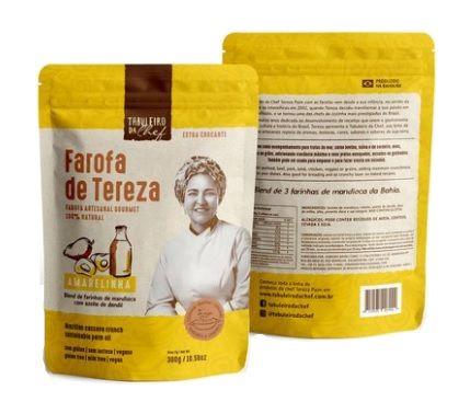 Farofa de Tereza Amarelinha 300gr - UN