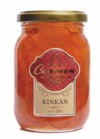 Geleia de Kinkan com Nozes e Passas 300g - Doces Carmen