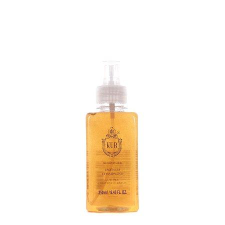 Perfume de Ambiente Aroma Champagne - Vidro - 250ml - Kur