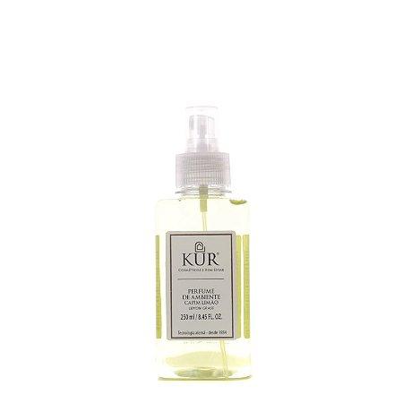 Perfume de Ambiente Capim Limão - Vidro - 250ml - Kur