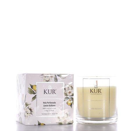 Vela Perfumada de Limão Siciliano -170g - Kur