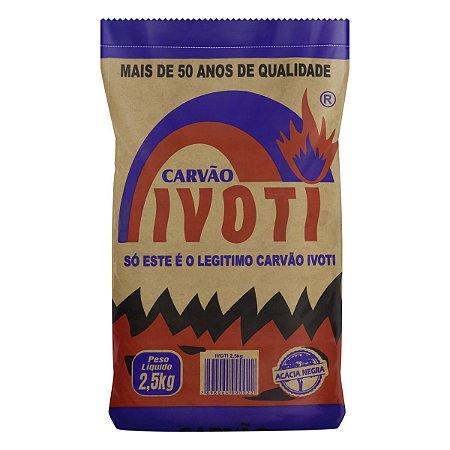 Carvão Acácia Negra Ivoti - 2,5 Kg - Un.