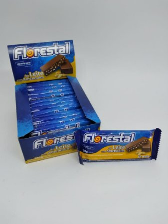 Tablete Florestal ao Leite/Amend. 15x20g - Display