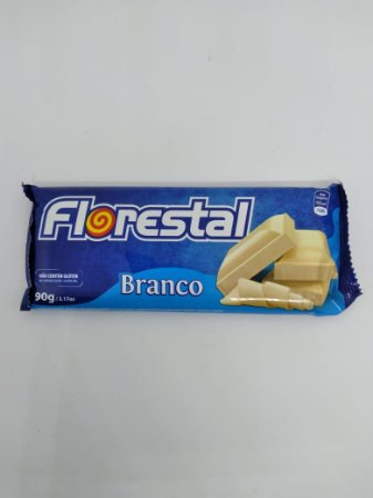 Tablete Florestal Branco 90g - UN