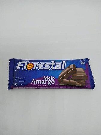 Tablete Florestal M. Amargo 40% 90g - UN