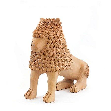 Leão Família Nuca 30cm