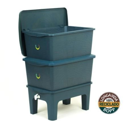 Composteira Humi Azul