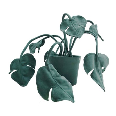 Vaso Costela de Adão Verde P