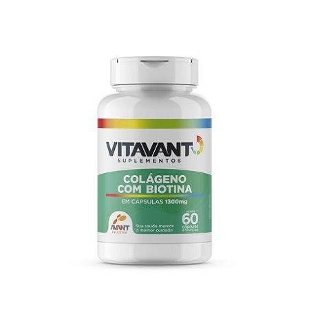 Colágeno + Biotina c/60 Cps.