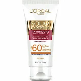 Protetor Solar Loreal Fps 60 Facial 50gr