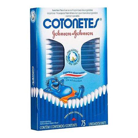 Cotonetes J&J Caixa c/ 75
