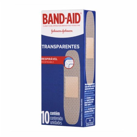 Curativo Band Aid Transparente c/10