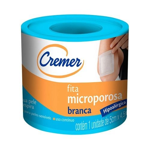 Fita Microporosa Cremer 5cmX4,5m