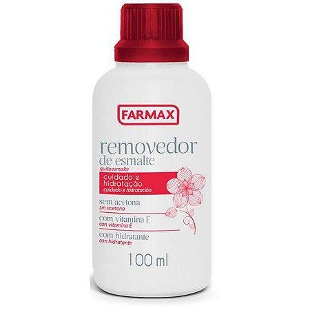 Removedor de Esmalte Farmax 100ml