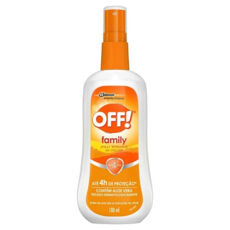 Repelente Off Family Spray 100ml