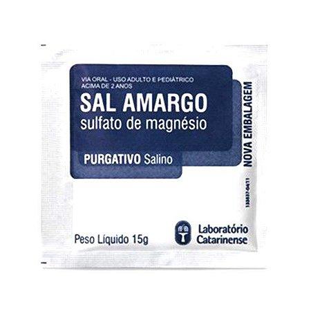 Sal Amargo Purificado 15gr Catarinense