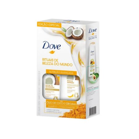 Kit Dove Shampoo+Cond. 400+200ml
