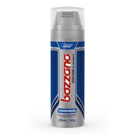 Espuma de Barbear Bozzano 190gr Hidratação