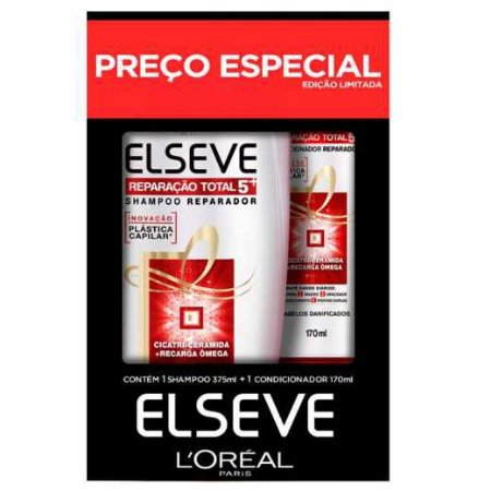 Kit Elseve Shampoo + Condicionador