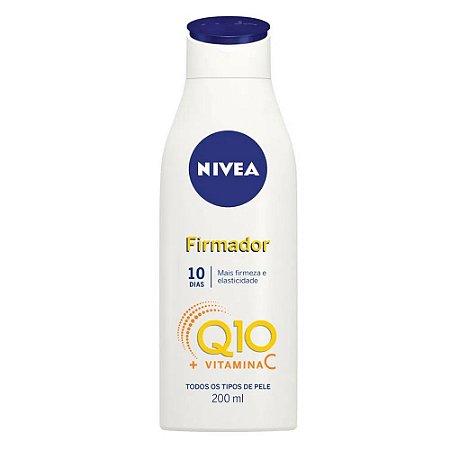 Loção Hidratante Nivea 200ml Q10 Firmador