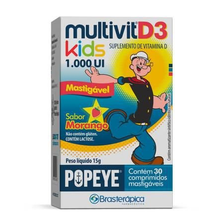 Multivit D3 Kids 1000UI c/30 cpr.