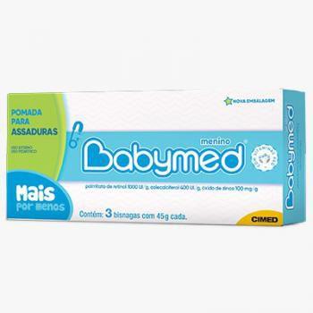 Kit Babymed Azul 45gr