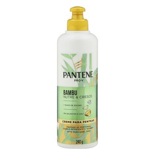 Creme P/ Pentear Pantene Bambu 240g
