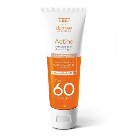 Actine Protetor Solar FPS60 Color 40gr