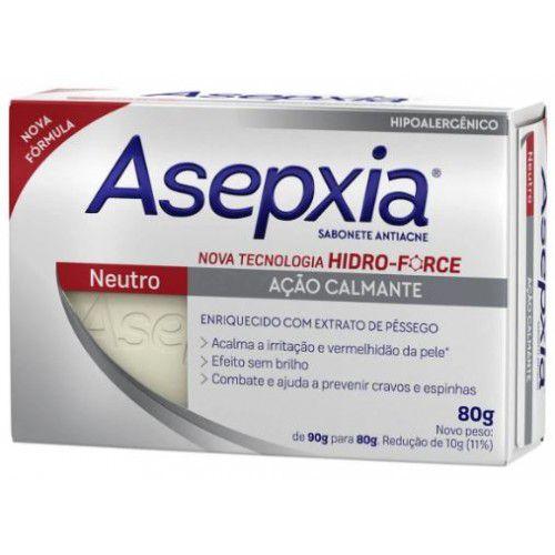 Sabonete Asepxia Neutro 80gr