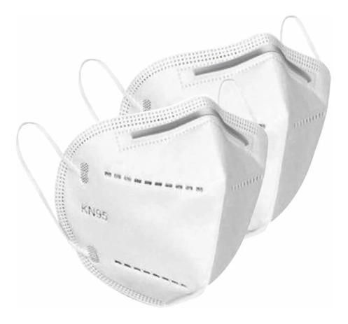 Máscara c/ Respirador N95 Branca c/1