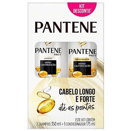 Kit Pantene Shampoo 350ml + Condicionador 175ml Hidro-cautrização