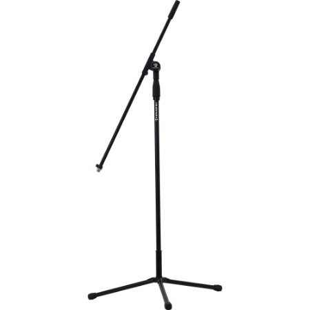 Pedestal de microfone com ajuste